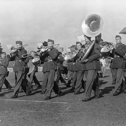 United States Army Band on the Adelaide Oval