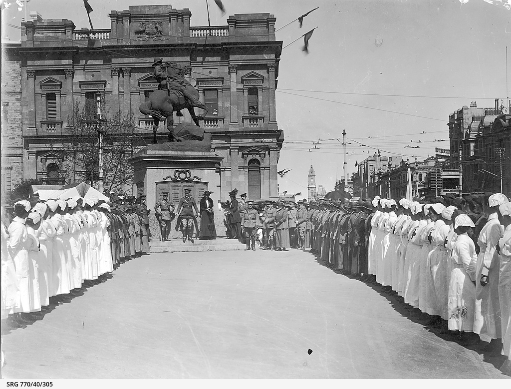Parade in Adelaide