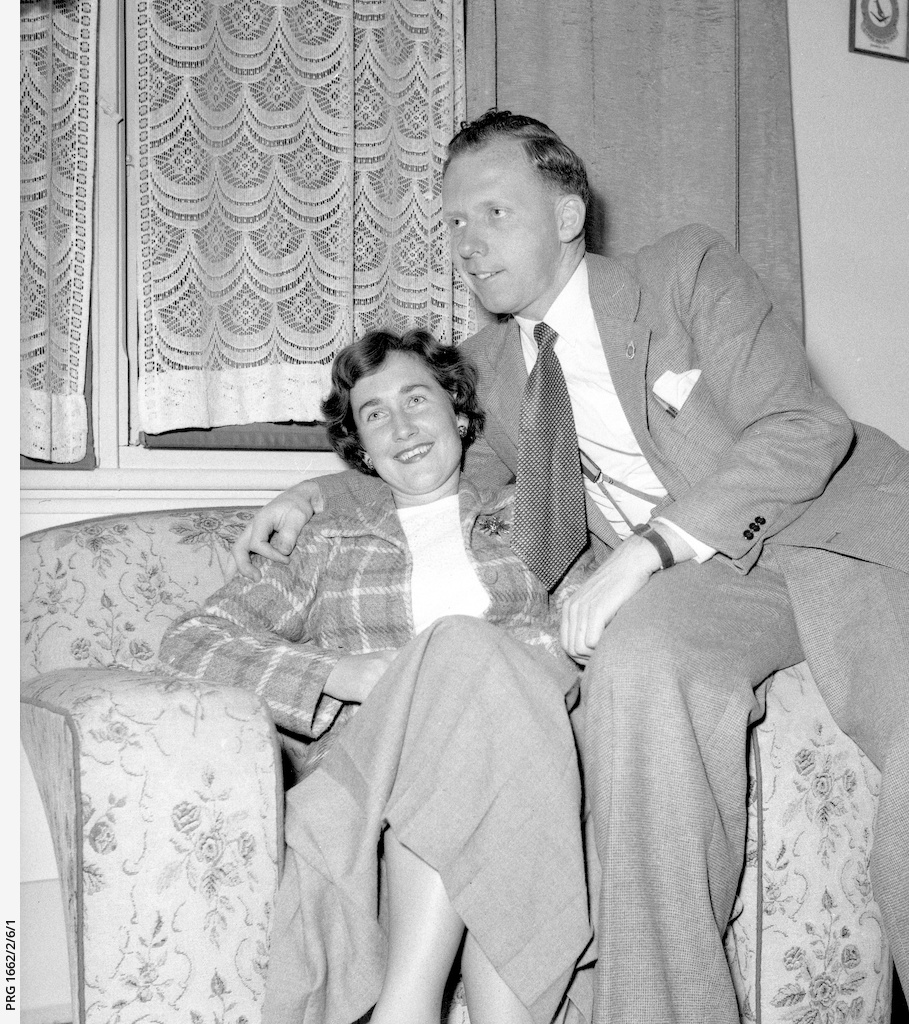 Vic and Maureen Grimmett