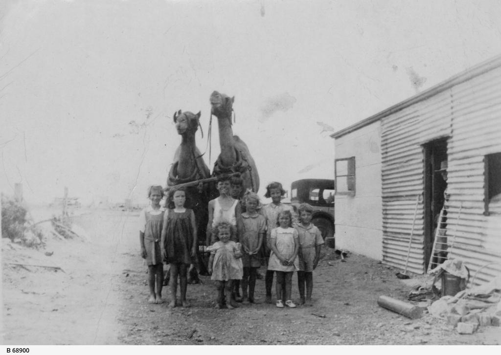 Children at Olary