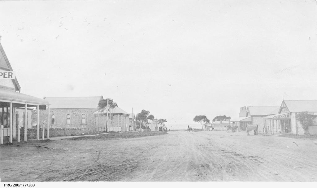 The main street of Ardrossan, South Australia