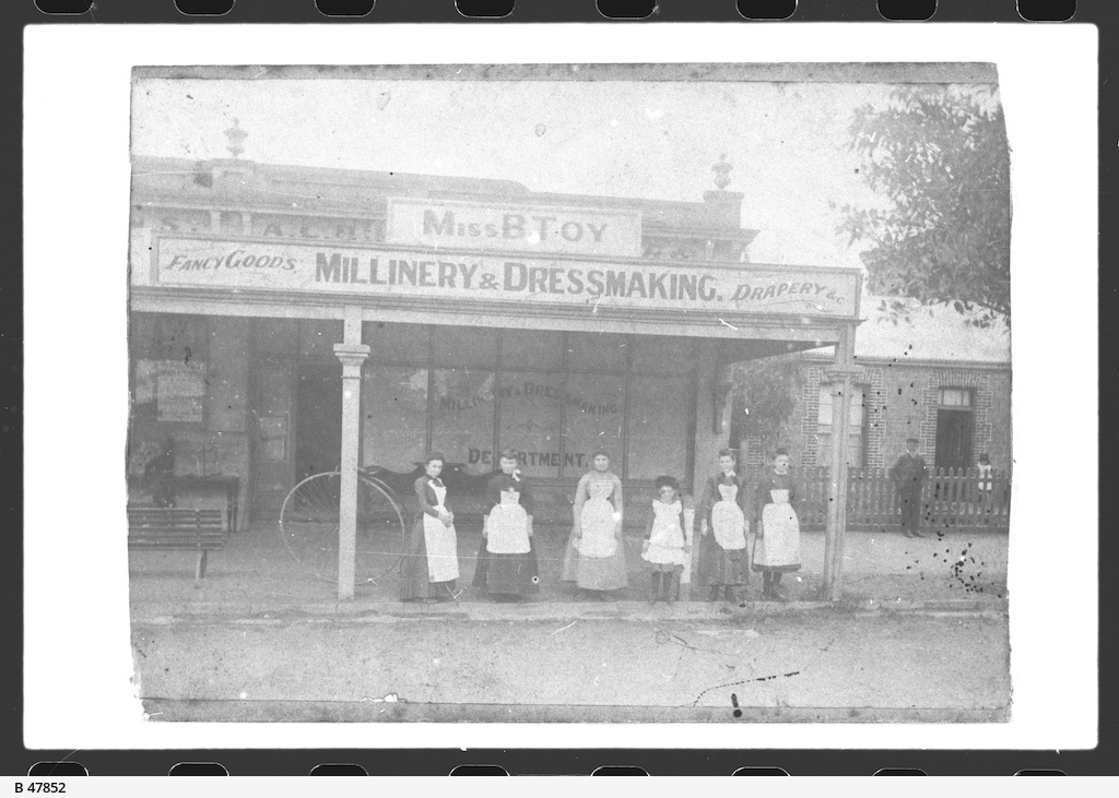 Millinery & Dressmaking Shop