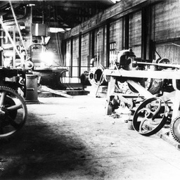 Machine shop for the Berri pumphouse
