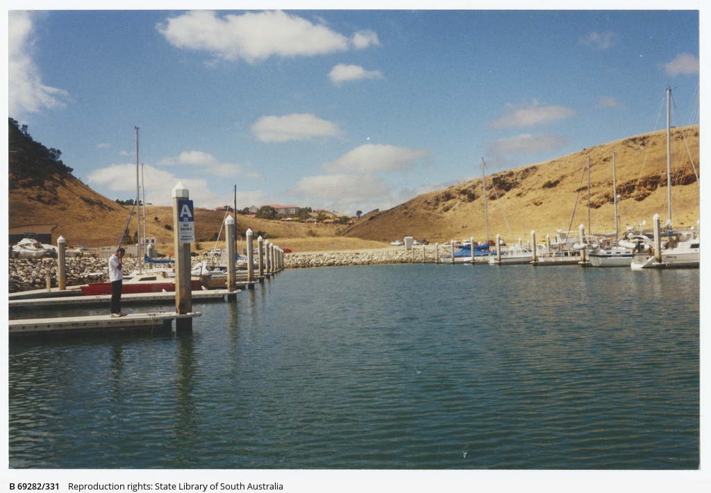 Sunset Cove Marina at Second Valley