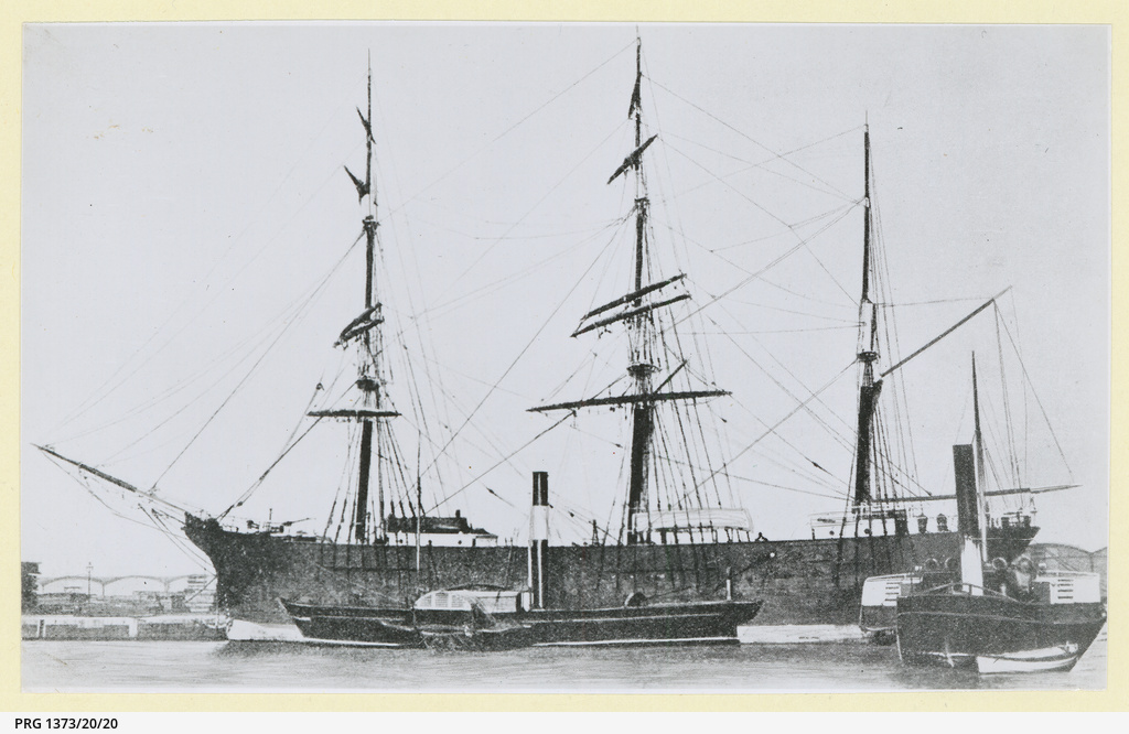 The 'Wenona' in an unidentified port