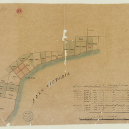 [Map of sections purchased in the Hundred of Bremer] [cartographic material]