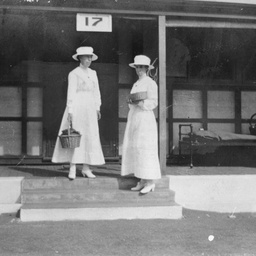 Keswick Hospital : Ella and Violet Williams