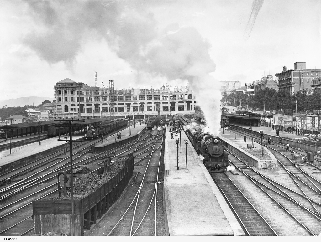 Adelaide Railway Station Photograph State Library Of