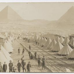 9th and 10th Battalions at Mena Camp