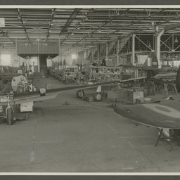 CAC aircraft under construction.