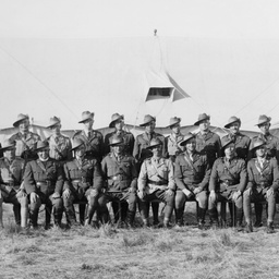 Officers of the 27th Battalion