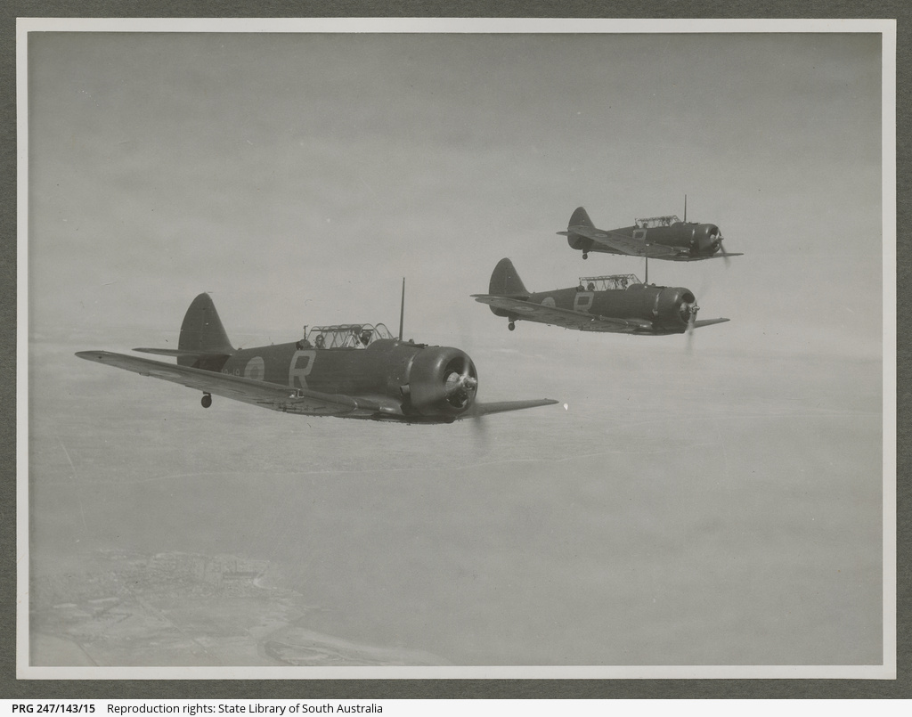 A20 CAC Wirraway formation.