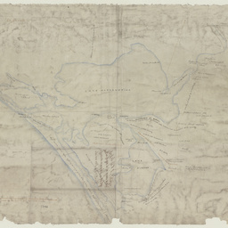 Tracing of lands on banks of Lake Alexandrina [cartographic material]/ by Wm. Wishart