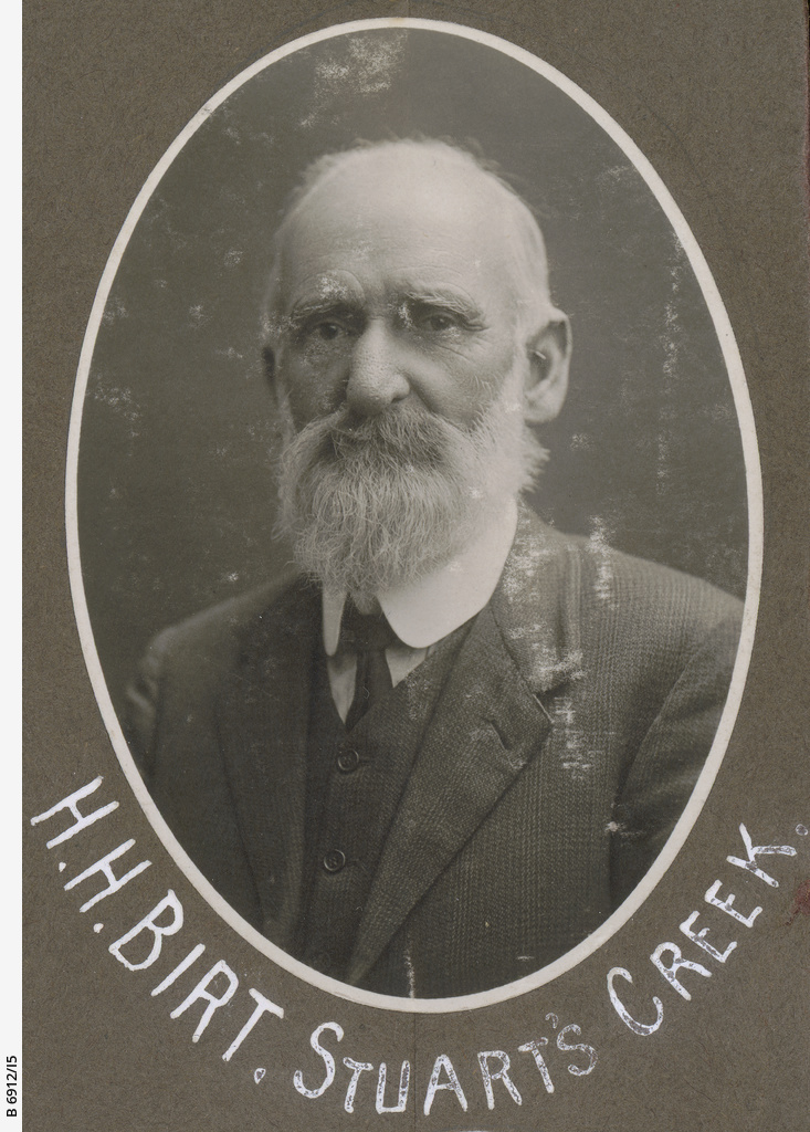 S.A. Northern Pioneers: H.H. Birt