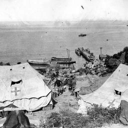 Anzac Cove, near Gallipoli, Turkey