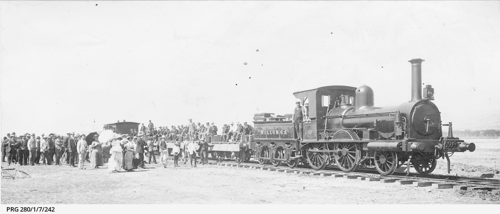 First train to Ascot Park
