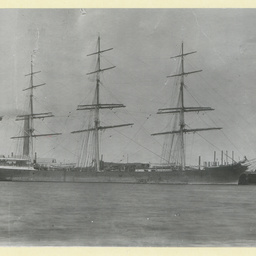 The 'Manx King' in an unidentified port