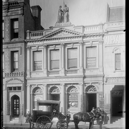 Grenfell Street, west of Commerical Place