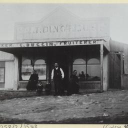 Gilbert Duggin's store at Morgan