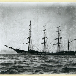 The 'Fascadale' at anchor