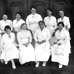 Women members of the Cheer Up Society in Adelaide