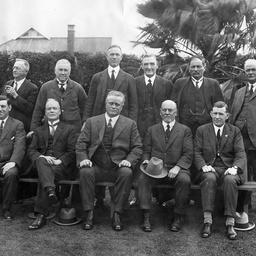 Bowling club committee, Prospect, South Australia