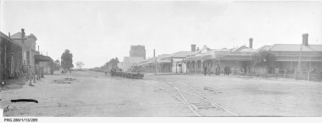 The main street of Port Broughton, South Australia