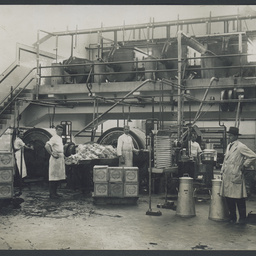 Butter-making at SA Farmers' Co-Op Union Ltd. Dairy Produce Department