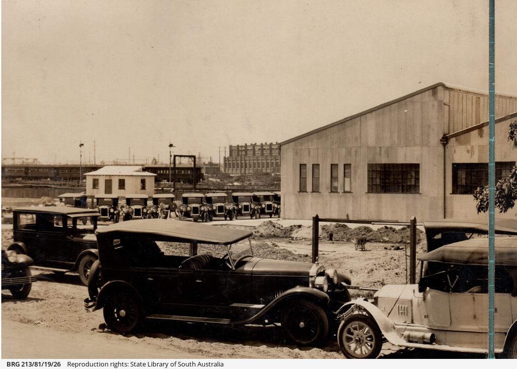 Official opening of General Motors Australia, Sydney branch