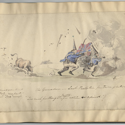 South Australia 1841 : military sketches and cartoons