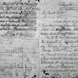 Papers relating to Charles Dudley Potts