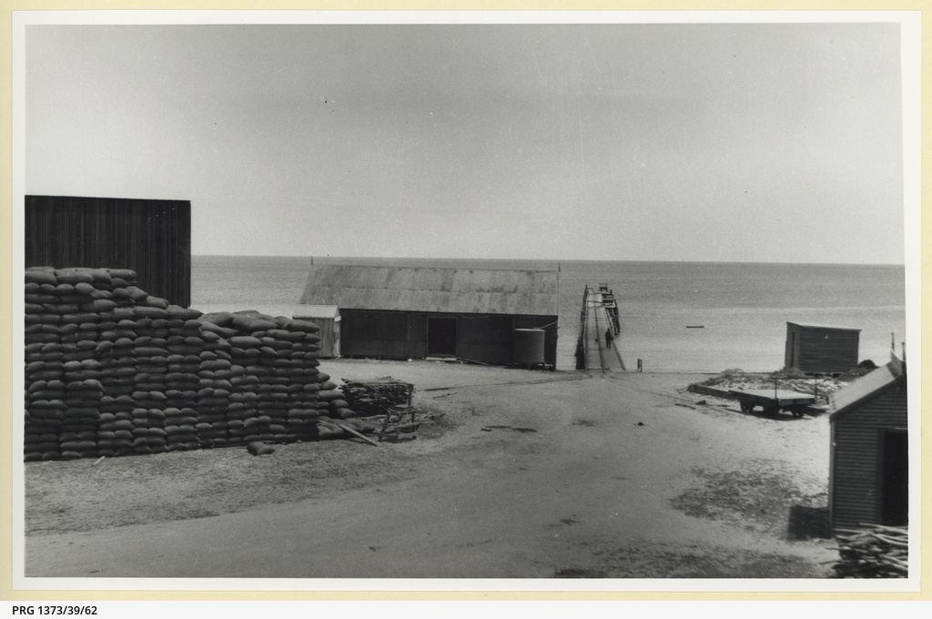 Port Rickaby jetty, about 1925