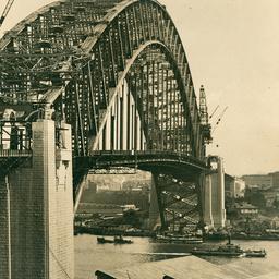 Sydney Harbour Bridge - Photos & Drawings