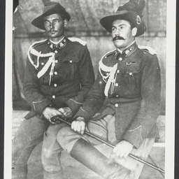 Private Newbold and Private Clarke