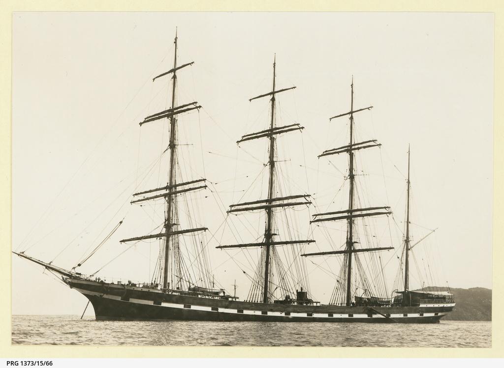 The 'Marion Josiah' at anchor