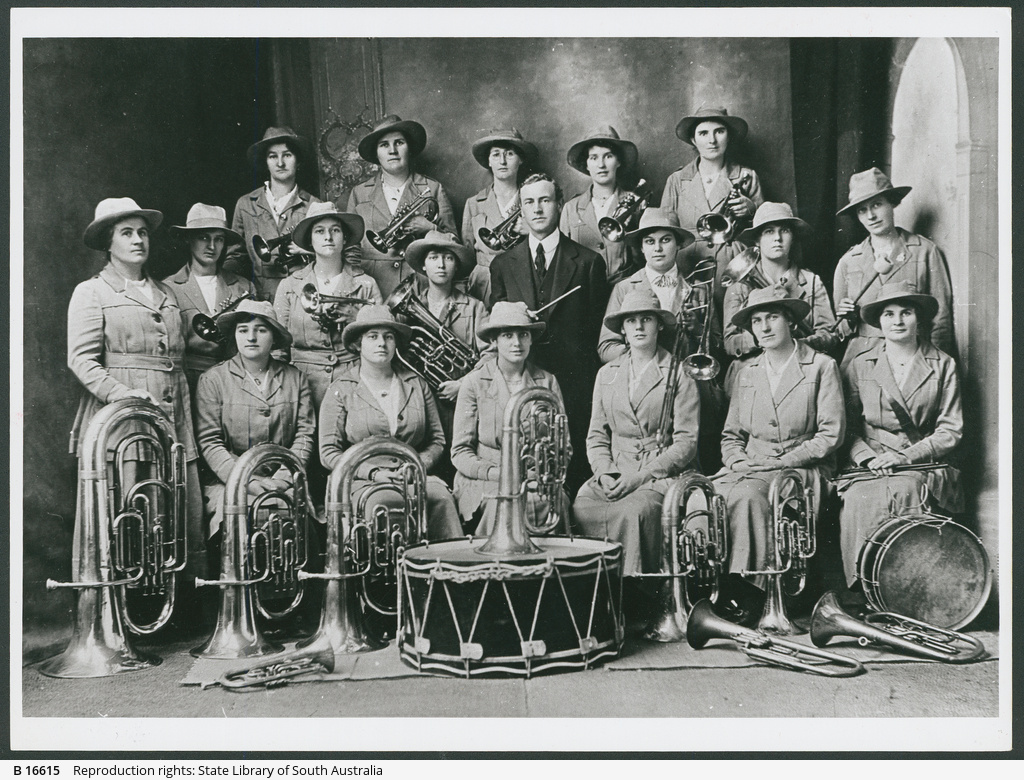 Clare girls Band