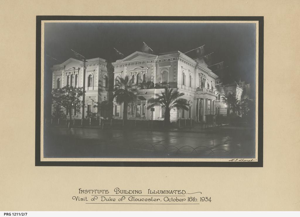 South Australian Institute.