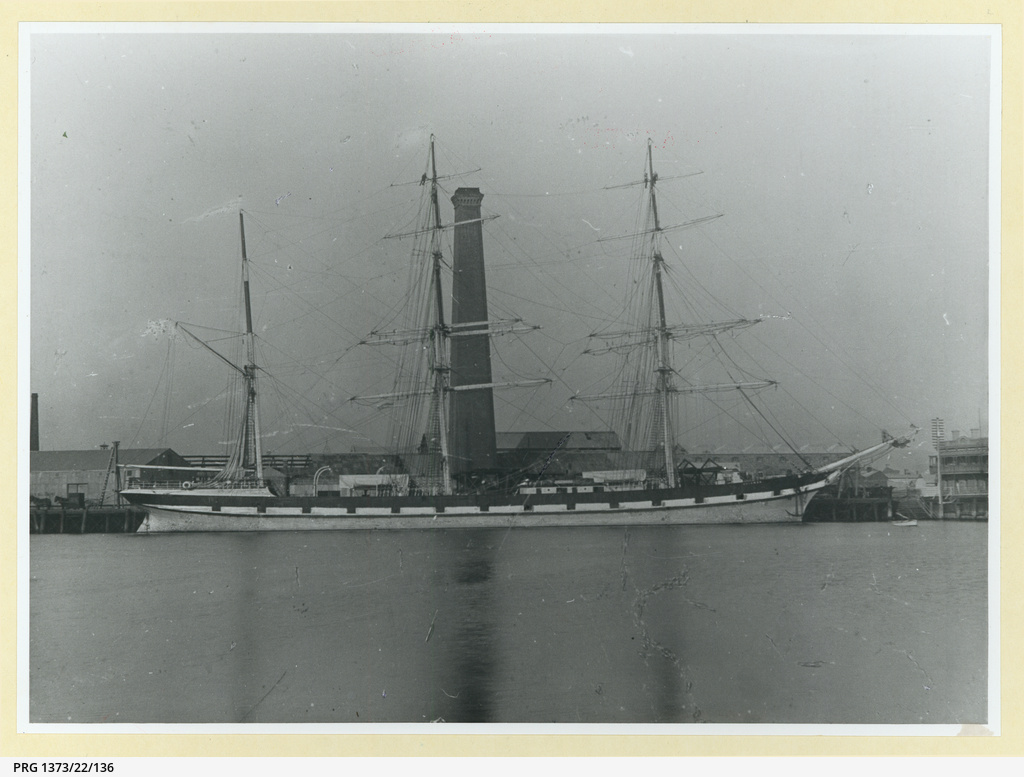 The 'Meinwen' at Port Adelaide