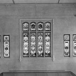 Stained Glass Windows In The Brookman Building South Australian School Of Mines Trove