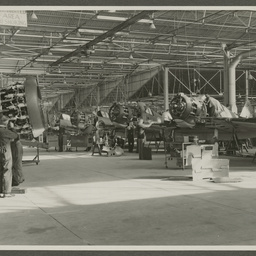 A46 CAC Boomerangs under construction.