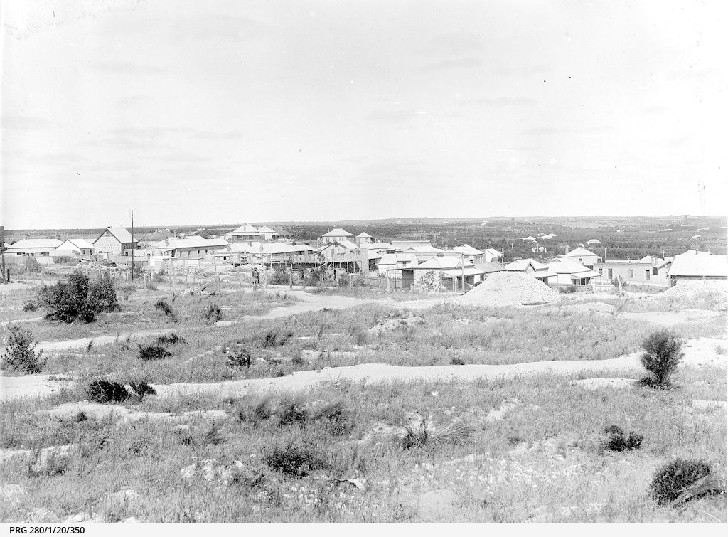 Waikerie during the 1917 flood