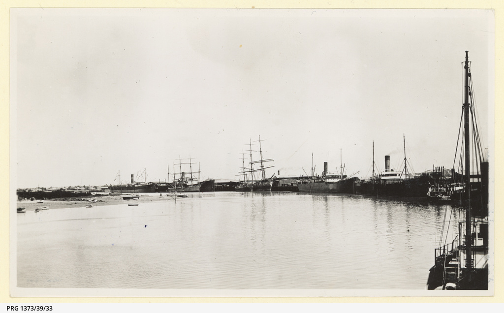 Shipping,Port Pirie about 1908