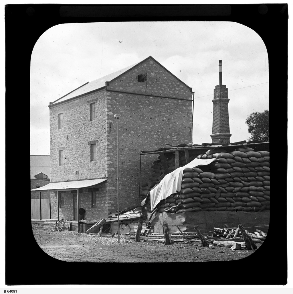 Flour mill at Minlaton