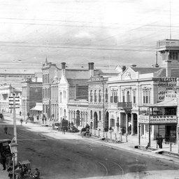 Grenfell Street, Adelaide in May 1885