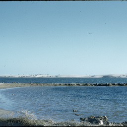 Slides taken of the Coorong and Robe