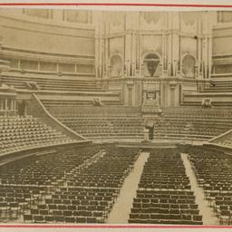 Interior of Albert Hall
