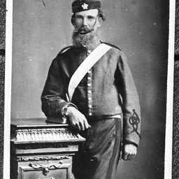 Charles White in uniform