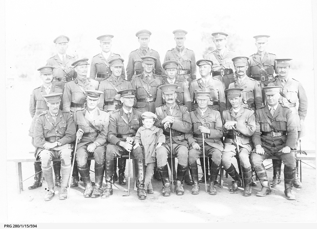 Group of army officers.