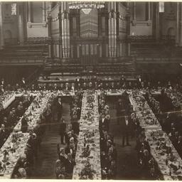Adelaide Town Hall dinner