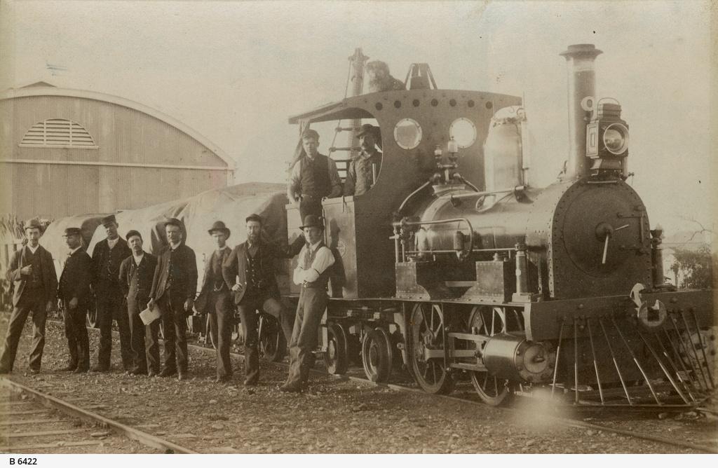 'Bob, the railway dog' at Port Augusta